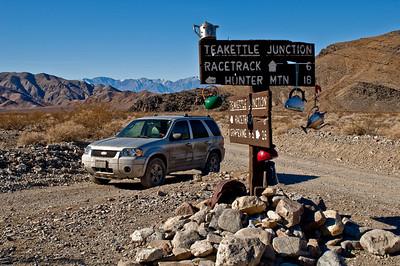 Teakettle Junction in Death Valley National Park