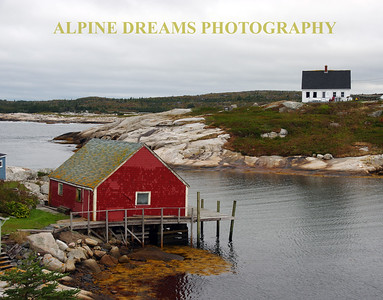 SHADES OF PEGGYS COVE
