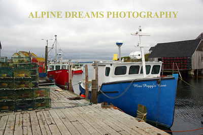 NAUTICAL BEAUTY IN PEGGYS COVE