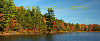 KENNEBEC PANORAMIC IN FALL