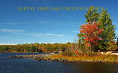 POINT OF COLORS AT KENNEBEC