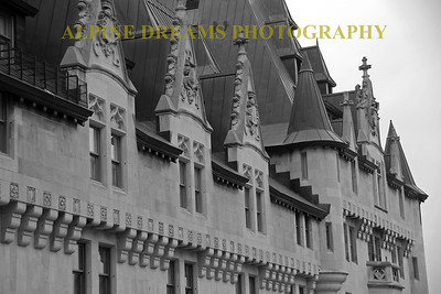 STEEPLES AND TURRETS IN B&W