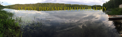 LITTLE CROOKED LAKE PANO
