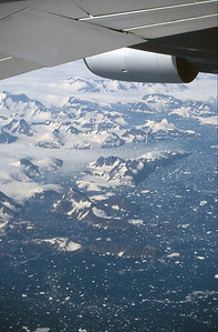 OK so this isn't Canada, but the East coast of Greenland on the flight to Edmonton, so I think it counts!