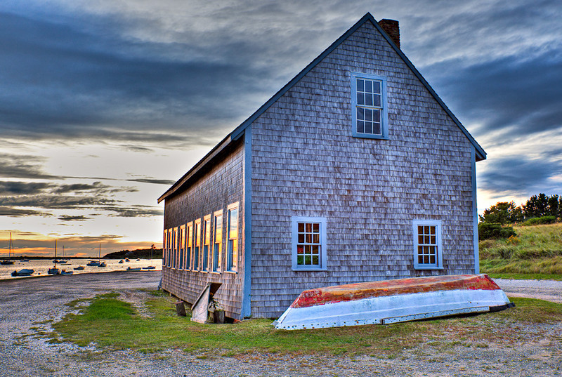 ROPE HOUSE AT STAGE HARBOR-CHATHAM