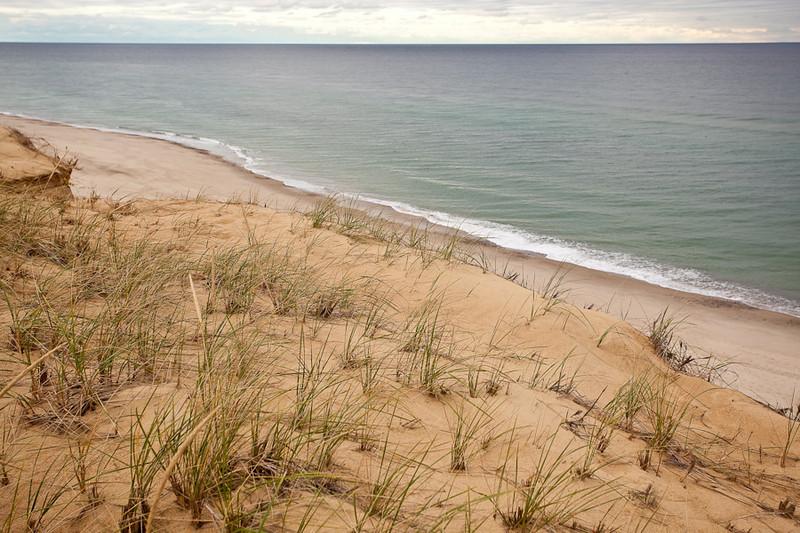 ERRODING CLIFF AT MARCONI BEACH