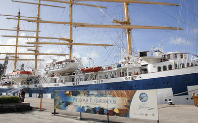 """""""our"""" ship   the Royal Clipper"""