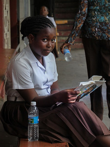 school child in Grenada