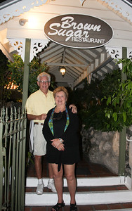 out to dinner, Lin & Jer are celebrating their 50th annivesary this year