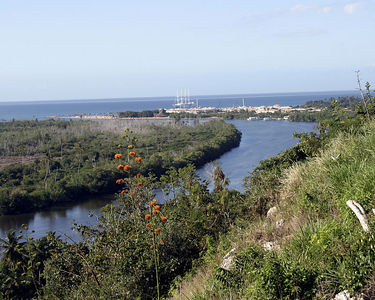 Dominican Republic -- Dye Fore -- view of Chavon River