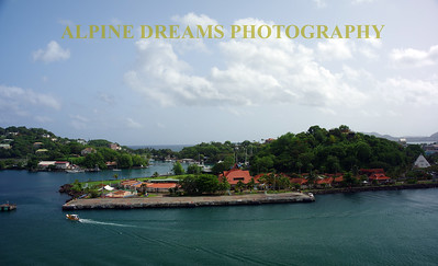 ST LUCIA HARBOR BEAUTY