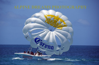 ST MARTENS PARASAIL UP CLOSE