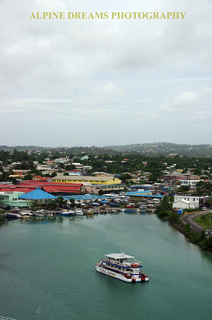 ANTIGUA COMING TO PORT
