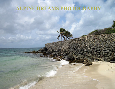 ST KITTS ROCKWALL JETTY
