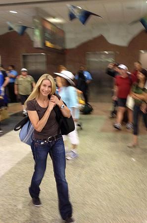 Calla arriving at DIA