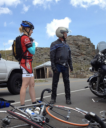 "Calla bridging the gap between ""cyclists"" and ""bikers"""
