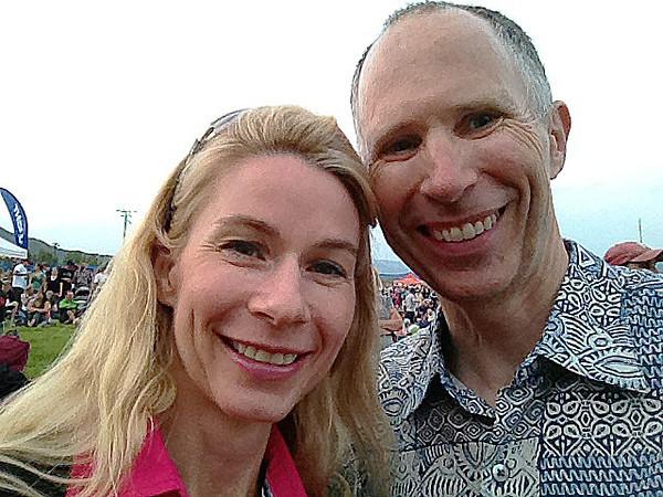 Calla & Randy at concert