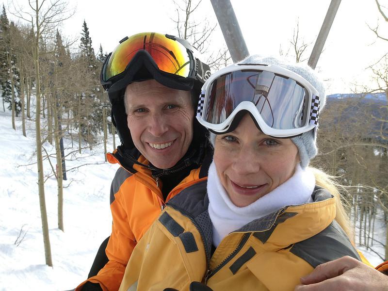 Randy & Calla on Sundown Express