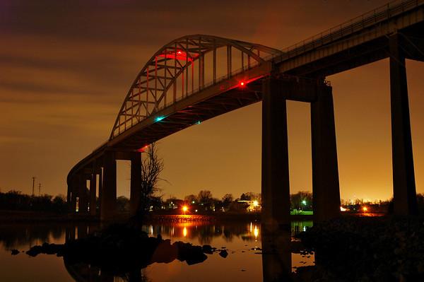 C&D Canal Bridge Photos - 3-11-08
