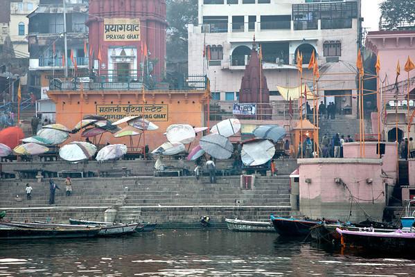 Prayag Ghat before evening prayers