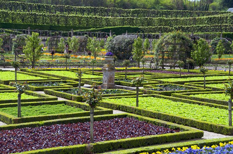 Gardens at Chateau de Villandry