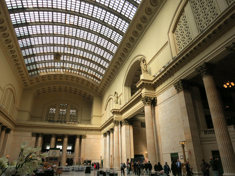 "2-Union Station. The ""Great Hall"" is one of the United States' great interior public spaces."