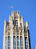 15-Tribune Tower. (There's a long stretch without photos. The next photo is from the North Branch Canal, heading south.)