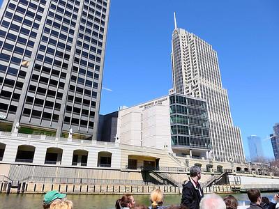 Chicago River architectural tour, Apr 14, 2013
