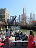 21-Kinzie Street Bridge, Willis Tower in the far distance.