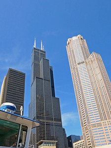 24-Willis Tower (center); 311 S. Wacker (right)