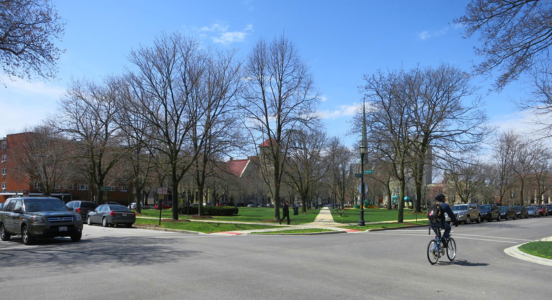 25-Raymond Park, looking west from Grove and Hinman