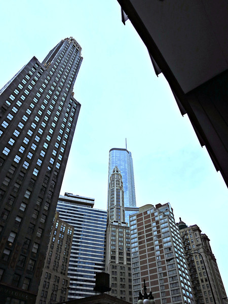 13-Union Carbide far left. Wrigley Building tower (center, in front of Trump Tower).