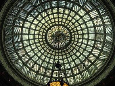42-Tiffany Dome, Old Public Library