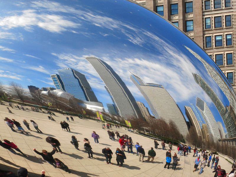 11-Cloud Gate at Millennium Park