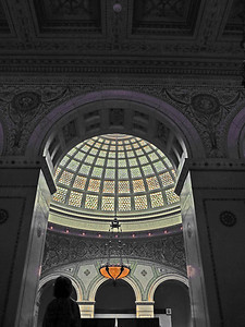 39-Tiffany Dome, Old Public Library