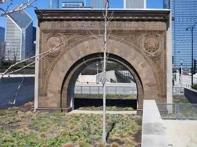 36-Arch from Chicago Stock Exchange, 1893, Louis Sullivan.