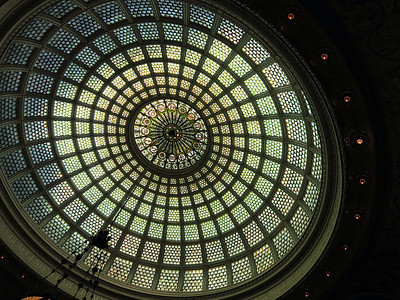 40-Tiffany Dome, Old Public Library