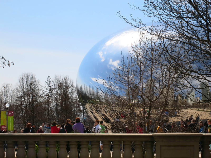 8-Cloud Gate at Millennium Park, by Anish Kapoor.