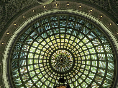 41-Tiffany Dome, Old Public Library