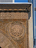 37-Medallion, Chicago Stock Exchange arch, 1893, Louis Sullivan.