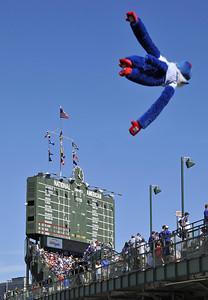 Flying Cubs Fan