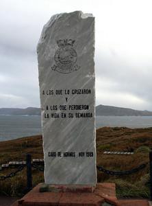 Patagonia - Cape Horn monument