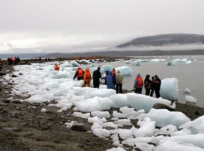 Patagonia - Brookes Glacier Bay walk