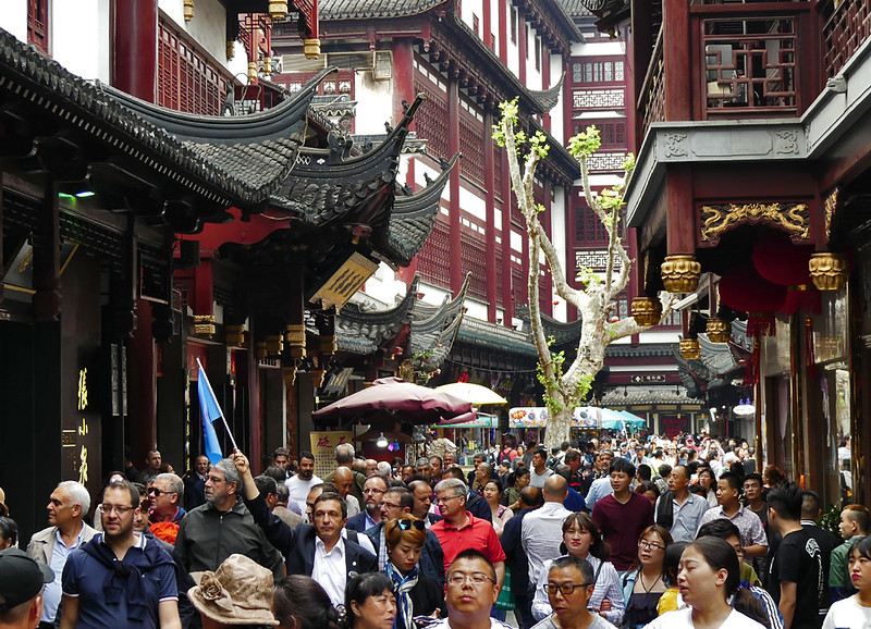 The narrow roads were packed with tourists- more locals than foreigners