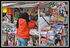 Newspaper and magazine stand in Guilin.....