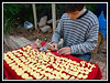 Artist carving trinkets outside of the Chen Family Shrine - Guangzhou...