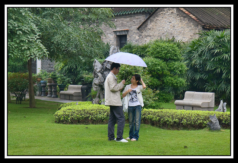 Rainy afternoon at the Chen Family Shrine - Guangzhou...