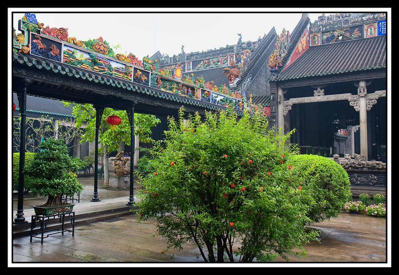 Courtyard, Chen Family Shrine - Guangzhou...