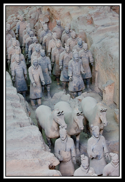 Terracotta Warriors and Horses......