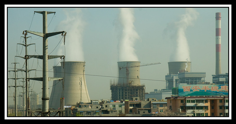 Power generating plant - coal powered...